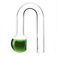Podwieszany szklany Drop-Checker Hang on