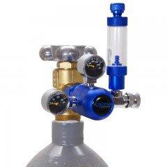 Aquario reduktor BLUE z zaworem igłowym